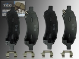 Keramik Bremsklötze vorne Chevrolet Trailblazer 2006-2009 Trailblazer EXT