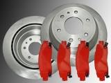 2 Bremsscheiben Bremsklötze hinten Chevrolet Trailblazer 2002-2009 Trailblazer EXT