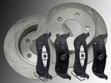 Rear Brake Rotors Ceramic Rear Brake Pads Chrysler Pacifica 2004-2009