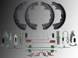 Drum Brake Shoes & Hardware Kit Dodge Ram 3500 Pickup 2000-2003