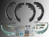 Brake Shoes Brake Drum Hardware Kit incl. Adjuster Dodge RAM 3500 Pickup 1994-1999