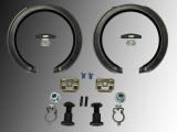 Handbremsbacken, Feststellbremse Federn Chevrolet Einsteller Trailblazer 2002-2009