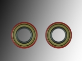 2x Rear Wheel Oil Seal Chevrolet Trailblazer 2002-2009
