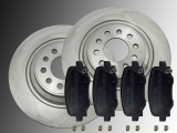 Rear Brake Rotors Ceramic Rear Brake Pads Jeep Cherokee KL 2014-2019