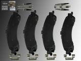 Keramik Bremsklötze Hinten incl. Hardware Chevrolet Silverado 1500 2003-2006