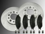 2 x Bremsscheiben Keramik Bremsklötze Vorne Ford Windstar 1999 - 2004