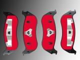 Bremsklötze, Bremsbeläge hinten Mercury Mountaineer 2002-2010