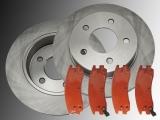 Rear Brake Rotors Rear Brake Pads Chevrolet Trans Sport 1997-2001
