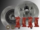 2x Front Brake Rotors Front Brake Pads incl. Seals Chevrolet Camaro 1982-1992