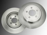 2 REAR BRAKE ROTORS  JEEP COMMANDER  2006-2010