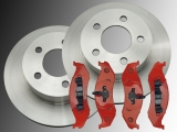Front Brake Rotors Front Brake Pads Jeep Wrangler YJ 1990-1995
