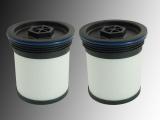 2x Kraftstofffilter, Dieselfilter Jeep Cherokee KK 2.8L CRD 2011-2012