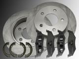 2x Bremsscheiben Keramik Bremsklötze Handbremsbacken hinten Chrysler PT Cruiser 2000-2010