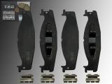 Ceramic Front Brake Pads Ford E-150 Econoline, E-150 Econoline Club Wagon 1994-2002
