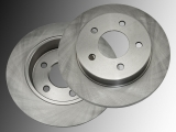 Rear Brake Rotors Chrysler Sebring 2001-2006 Convertible Sedan