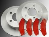 2 Bremsscheiben und Bremsklötze vorne Mercury Mountaineer 4WD 1997-2001