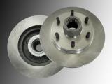 Disc Brake Rotor and Hub Assembly GMC Savana 2500 1996-2002 6 Stud Wheels