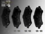 Front Ceramic Brake Pads incl. Hardware Volkswagen Routan 2008 -2012