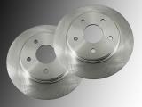 2 Front Brake Rotors Volkswagen Routan 2008-2012, 302 mm Outer Diameter