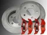 Rear Brake Rotors and Rear Brake Pads Chrysler Stratus 1995-2000