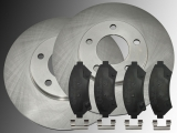 2 Bremsscheiben Satz Keramik Bremsklöltze vorne Cadillac Eldorado 4.6L V8 1997-2002