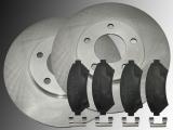 2 Bremsscheiben Satz Keramik Bremsbeläge vorne Cadillac Deville 4.6L V8 1997-2005 5 Radbolzen 302.70 mm Aussendurchmesser