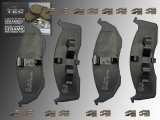 Ceramic Front Brake Pad Set Chrysler Concorde 1993-2004