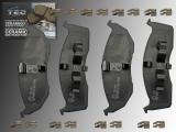 Ceramic Front Brake Pad Set Chrysler / Eagle Vision 1993-1994