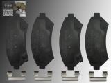 Keramik Bremsbeläge Bremsklötze vorne  Buick LeSabre 2000-2005