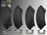 Keramik Bremsbeläge Bremsklötze vorne Pontiac Bonneville 2000-2005