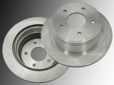 Rear Brake Rotors Chevrolet S10 Pickup 4WD 1998-2004