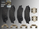 Ceramic Rear Brake Pads Chevrolet S10 Pickup 1998-2004