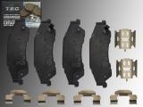 Ceramic Rear Brake Pads GMC Jimmy 1997-2005