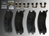 Rear Ceramic Brake Pads Pontiac Montana 1999-2005
