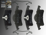 Ceramic Rear Brake Pads Jeep Grand Cherokee WJ/WG 1999-2004