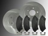 2 Bremsscheiben Keramik Bremsklötze vorne Oldsmobile Silhouette 1997-2004 2WD