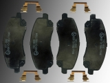 Ceramic Front Brake Pads  incl. Hardware Jeep Patriot 2006-2016