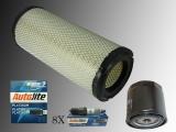 Luftfilter Ölfilter Zündkerzen Autolite Platin Chevrolet Express Van 5.3 6.0 V8 2003-2006