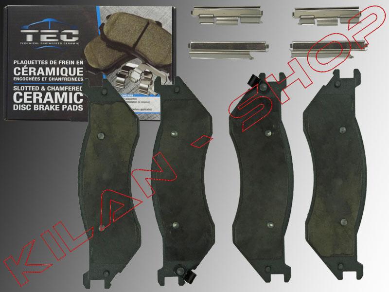 plaquettes sabots de frein avant type c ramique dodge ram 1500 2002 2005 ebay. Black Bedroom Furniture Sets. Home Design Ideas